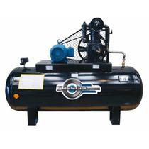 Compresor Horizontal De 500 Litros De 5hp Trifasico