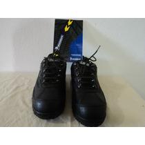 Hermosos Zapatos Michellin Negro Excelente Calidad