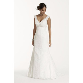 Vestido Noiva Sereia Renda Nobre 3 Cores Costas A Mostra