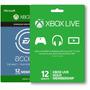 Combo Full Para Xbox One: Ea Access + Live Gold De 12 Meses
