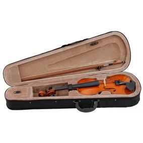 Violino Estudante 4/4 Com Estojo Arco Ideal Para Iniciantes