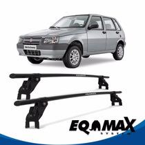Rack Teto Eqmax Aço Fiat Uno Mille 4 Pts 05/13 - Bagageiro