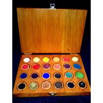 Caja De Acuarelas Profesionales En Pastillas X 24 Unidades