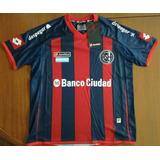 Camiseta San Lorenzo Titular 2014/15 Lotto Niños Original