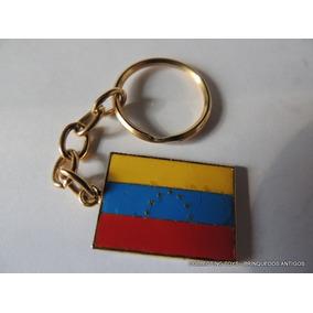 Chaveiro Antigo - Bandeira Da Venezuela - (jo 404)