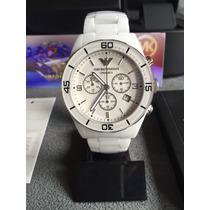 Relógio Emporio Armani Ar1424 Cerâmica Original 12x S/ Juros