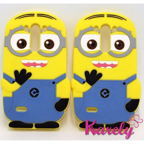 Funda Silicon 3d Minion Lg G3 Mi Villano Favorito