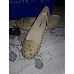 Oferta!! Chatitas Color(beige) Punto&linea