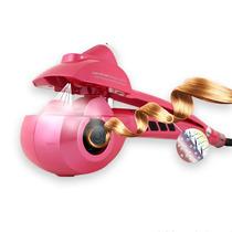 Modelador Cachos Steamer Curl Cacheador Vapor Bivolt Rosa