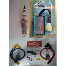 Kit Competição Cdi + Vela Iridium+cabo Crf 230 Nx Cbx Xr 200