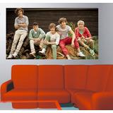 Adesivo De Parede Música Banda One Direction Poster Foto