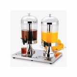 Dispensador De Jugos 8 Litros 2 Tanques Bbg (dis)