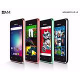 Celular Blu Advance 4.0 L2 Android 2 Chips 4gb 3g + Capinha
