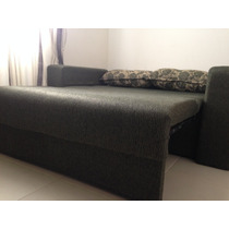 Sofá-cama Verde Musgo Casal