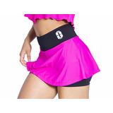 Shorts Saia Fitness Treino Academia Media Compressão