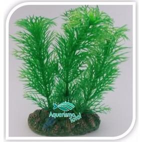 Planta Artificial Mydor Pinheirinho Sp 13cm Enfeite Aquário