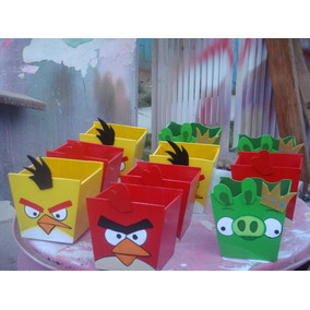 Cotillones En Mdf , Angry Toy Story ,mickey ,cars,etc