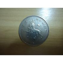 Moeda Inglaterra De 10 Pence 1985 A 1992 Catalogo Km# 938