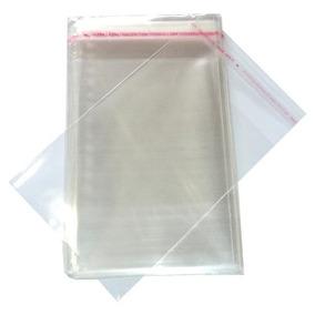 100 Envelope Saquinho Plastico Dvd /cd 14x20cm + Aba Adesiva
