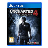 Izalo: Juego Fisico Uncharted 4 Ps4 Nuevo Sellado + Local!!