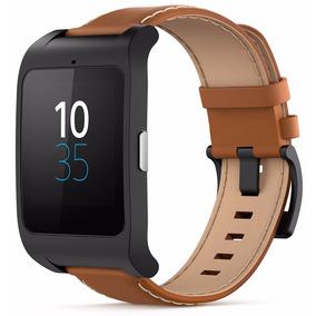 Pulseira Relogio Sony Smartwatch 3 Swr50 Couro Ed Limitada