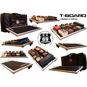 Pedal Board T-board 60x30cm (incluye Funda, Velcro)