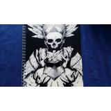 Libreta Calavera Skull Cráneo Ilustración Cuaderno