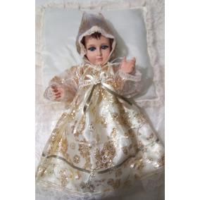 Vestido Para Niño Dios De 40cm,45cm,50cm 60cm Organza Gliter