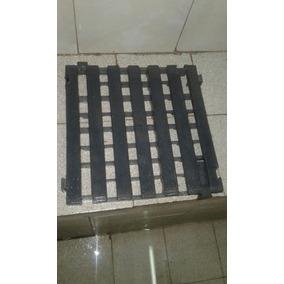 Piso Antideslizante Plastico 32x32cm Encastrable Floresta