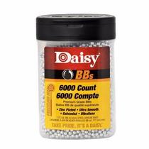 Postas Cal 4.5 Mm Acero Daisy 6000 Pzas Bbs Municiones Co2