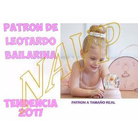 Patron De Leotardo O Malla Ballet Danza Niña Traje De Baño