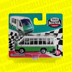 Taxi Mania Microbus Df Tipo Hot Wheels