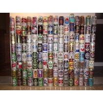 Lote De Colección De Latas De Cerveza Nacionales E Importada