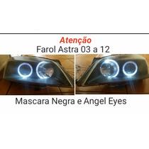 Par De Farol Astra 03 A 12 Máscara Negra E Angel Eeyes