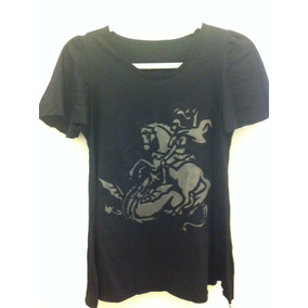 Santa Graça Camiseta Manga Curta Com Estampa feminina - M