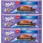 Kit 3 Barras Chocolate Milka Oreo 300g - Importado Áustria