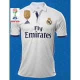 Camiseta Real Madrid 2016-2017 Climacool Campeon Del Mundo