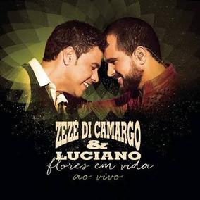 Cd Zezé Di Camargo & Luciano - Flores Em Vida Ao Vivo