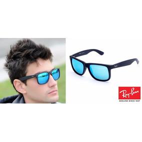 Ray-ban Justin Espelhado Polarizado Lancamento Original