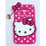 Funda Silicona Hello Kitty Samsung A3 Zona Microcentro