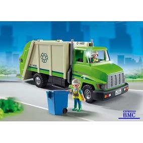 Caminhão De Reciclagem Com 27 Peças Original Playmobil 5679