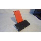 Celular Sony Smartphone Xperia Z3 Compact Naranja Telcel