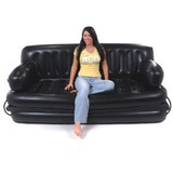 Inteligente Air Beds Bd-0012 Inflable Sofá Cama - Rey