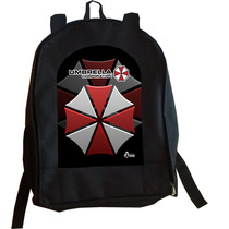 Mochila Resident Evil Umbrella Corporation