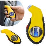 Calibrador Lcd Digital De Pressão De Pneus/carros/motos/bike