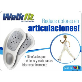 Plantillas Walk Fit Platinum Ortopedicas