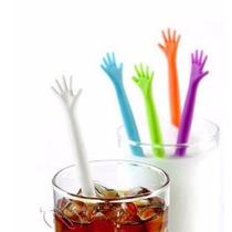 Agitadores Mano Para Bebidas *.-