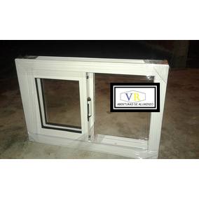 Ventiluz Ventana De Aluminio Para Baño 60x40 Oferta