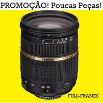 Lente Tamron 28-75 Mm F2.8 Macro Canon Fullframe Nota Fiscal