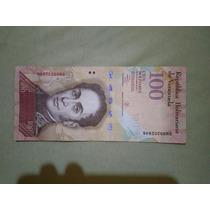 Cedula 100 Bolivares Mbc Frete 7$